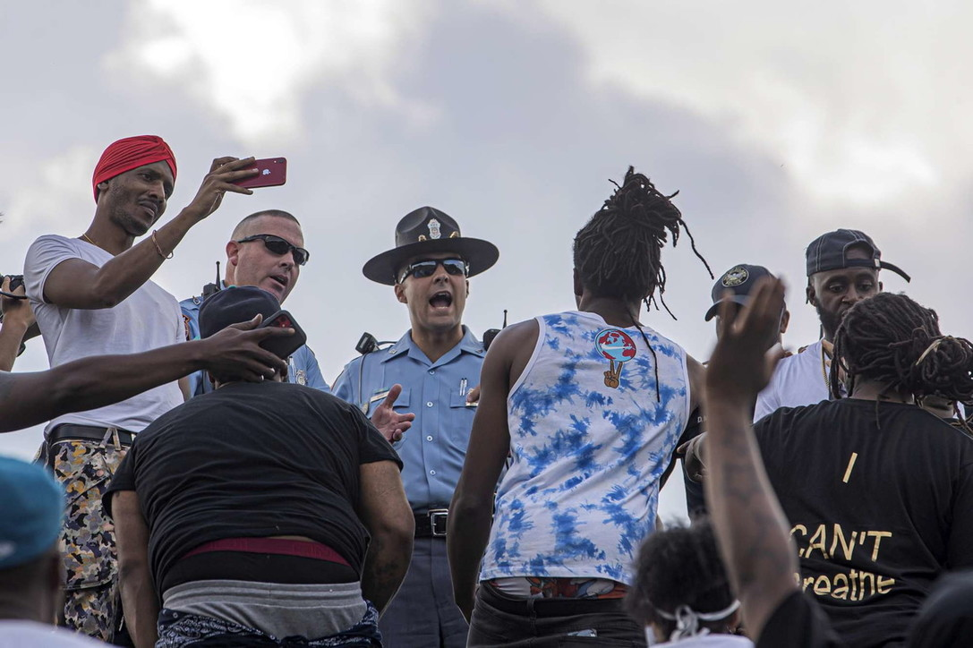 Atlanta, manifestanti protestano per la morte diRayshard Brooks