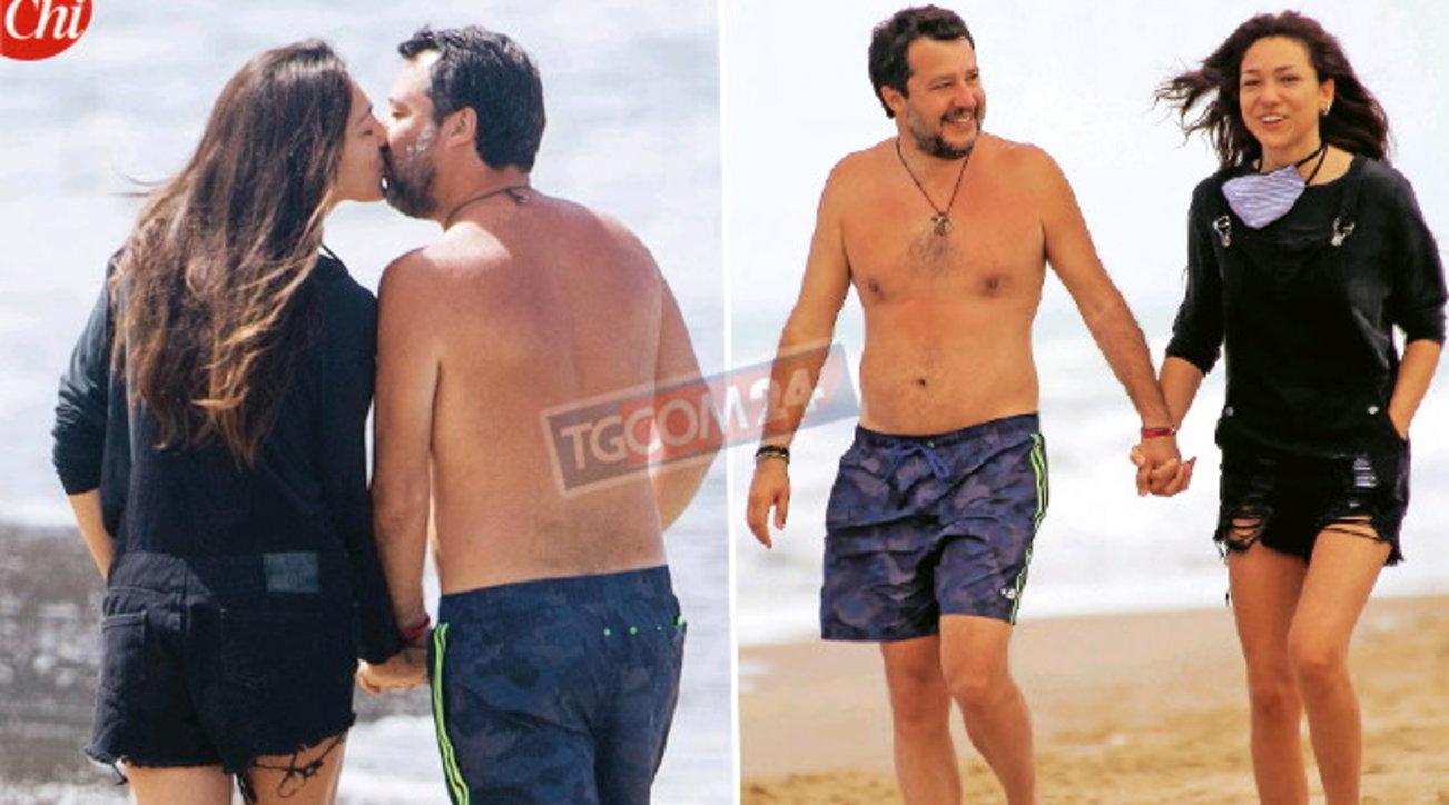 Salvini e Verdini al mare, prove di luna di miele?