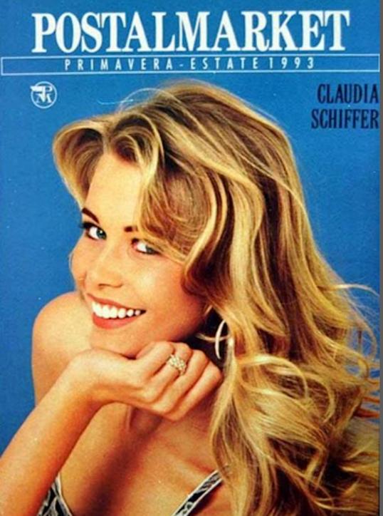 La rinascita di Postalmarket, le copertine storiche con Carla Bruni e Valeria Marini