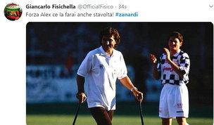 """Il mondo dello sport tutto con Zanardi: """"Forza campione!"""""""