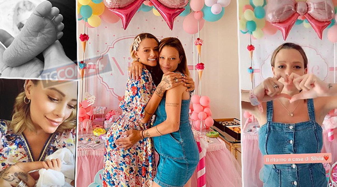 Benvenuta Nicole, ecco la festa per la figlia di Silvia Provvedi