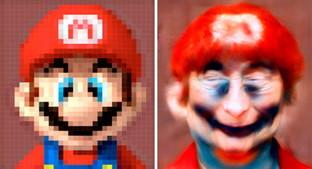 Da un mucchio di pixel ai ritratti: ecco come sarebbero i vecchi personaggi dei videogiochi nella realtà