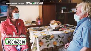 Mediafriends e Croce Rossa per gli anziani soli