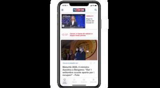 Nuova app di Tgcom24: un sistema multimediale con più video, news e podcast
