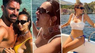 Serena Garitta in vacanza, che esplosione di curve!