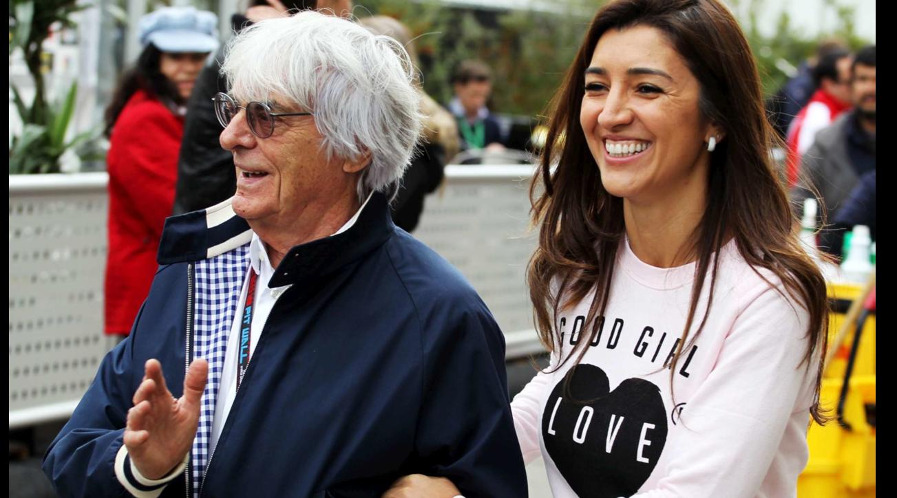 Bernie Ecclestoneè diventato papà a 89 anni: è nato il suo primo erede maschio
