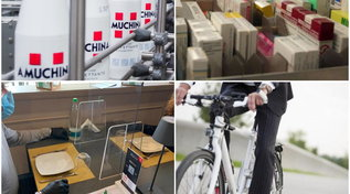 Amuchina, farmaci, plexiglas e bici: i prodotti che hanno registrato un boom durante la pandemia