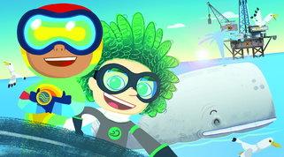 Ecologia, natura e cambiamento climatico: su Cartoonito arriva la serie animata