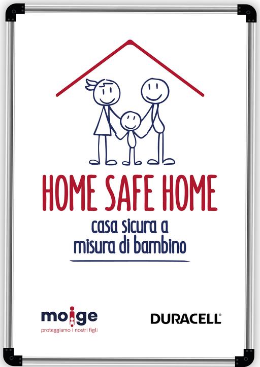 Home Safe Home, al via il progetto sulla sicurezza domestica dei bambini realizzato da Moige in collaborazione con Duracell