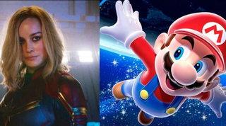 Videogiochi: Brie Larson lascia un fidanzato per giocare a Super Mario Galaxy