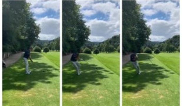 Nessuno urla per avvisare, golfista colpito in testa da una pallina | Guarda il video
