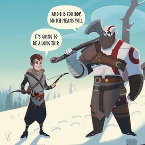God of War: l'Abc degli déi in un libro illustrato per bambini