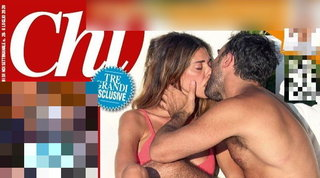 Belen in piscina bacia un altro, ecco chi è l'uomo che sostituisce De Martino