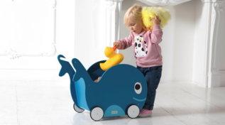 Bambini: giocare e riordinare con fantasia