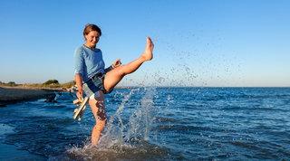 Bruciare calorie: anche in spiaggia si può