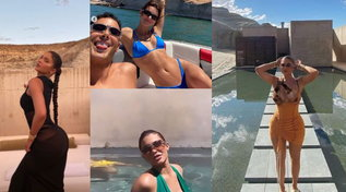 Kylie e Kendall Jenner in fuga nel deserto nel resort da 5.300 dollari a notte
