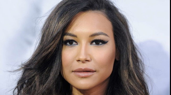 "L'attrice Naya Rivera, star di ""Glee"""