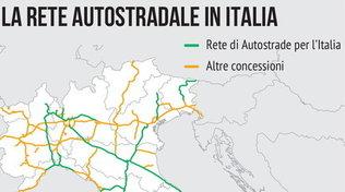 Autostrade in Italia, tutti i numeri della rete