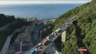 Liguria, verso un altro weekend di code e traffico