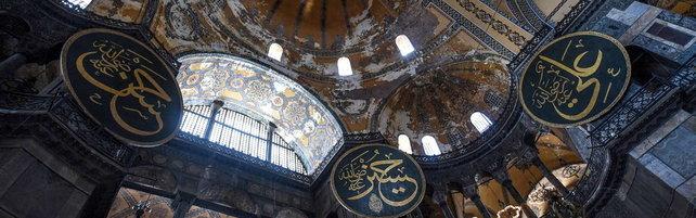 Istanbul, Santa Sofia di nuovo moschea