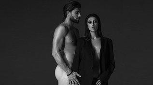 Ignazio Moser nudo posa con Cecilia, la foto che infiamma Instagram