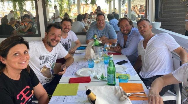Papeete un anno dopo: Salvini torna sul