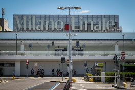 L'aeroporto di Linate alla vigilia della riapertura