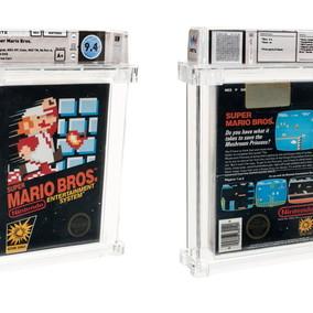 Usa, copia sigillata di Super Mario Bros. venduta per 114mila dollari: è record