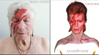 Londra, rockstar per un giorno: la casa di riposo che ha ricreato le copertine degli album con i residenti