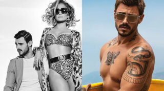 Francesco Monte e Jennifer Lopez, la strana coppia... alla moda