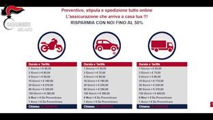Maxi truffa sulle polizze auto nel Casertano: migliaia le vittime