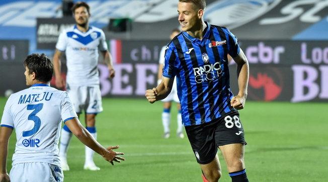 L'Atalanta non si ferma più: 6-2 al Brescia e secondo posto da sola