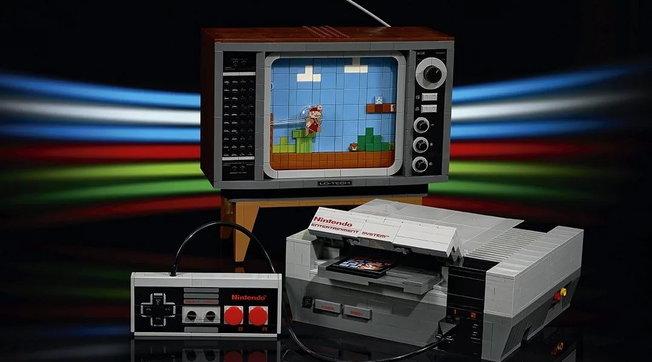 Videogiochi: lo storico NES torna in una versione tutta a mattoncini