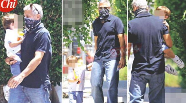 George Clooney papà single senza Amal