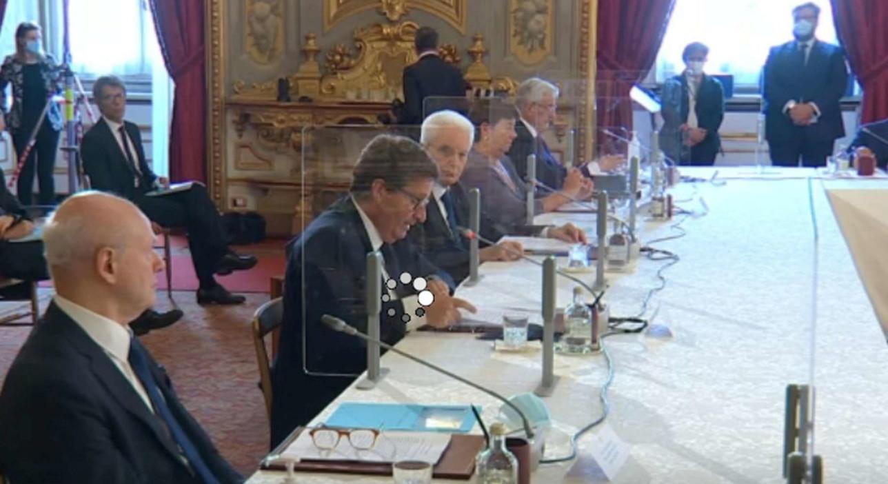 Csm, plenum al Quirinale: passaggio di consegne Mammone-Curzio