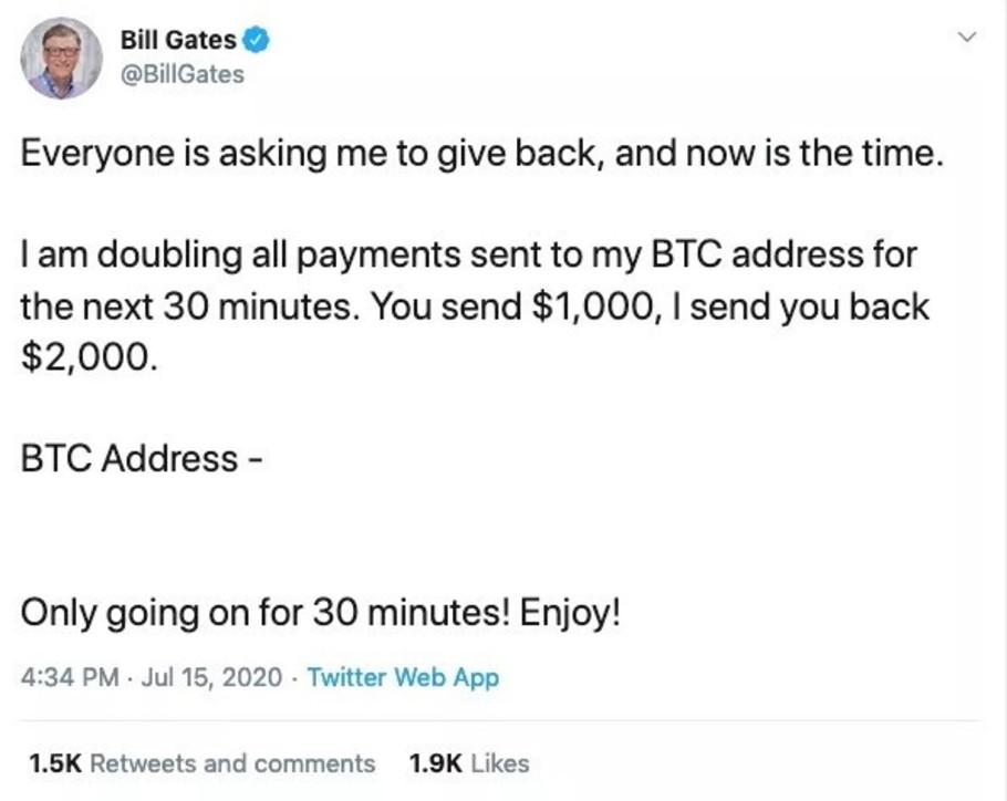Ai tre big della Silicon Valleyhackerati gli account