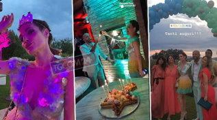 Festa scatenata con tanti vip per il compleanno di Laura Chiatti