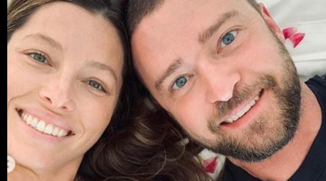Justin Timberlake e Jessica Bielgenitori bis