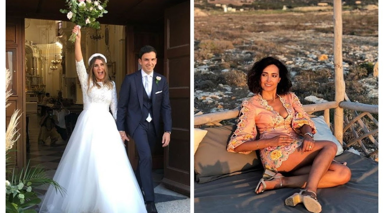 Caterina Balivo va a nozze: si è sposata la sorella Sarah