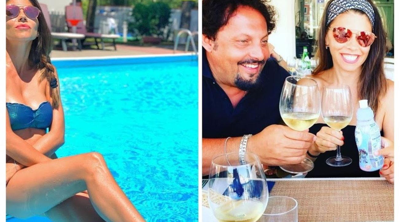 Flora Canto, l'estate addosso con Enrico Brignano