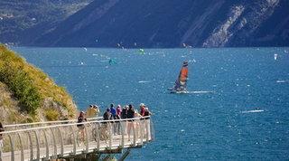Sul Garda la ciclopedonale più spettacolare d'Europa