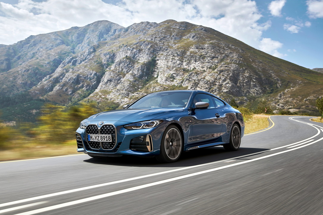 BMW nuova Serie 4 Coupé