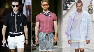 Fashion trends, moda uomo estate 2020: il grande ritorno dei bermuda