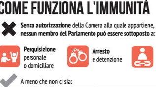Immunità e autorizzazione a procedere, le regole in Parlamento