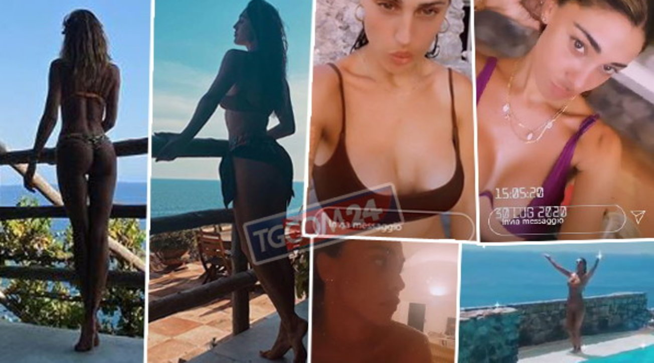 Belen e Cecilia in vacanza, curve pericolose sotto il sole di Amalfi