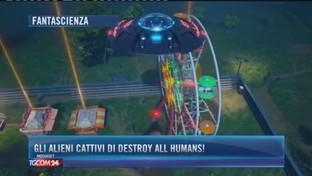 Gli alieni cattivi di Destroy all humans!