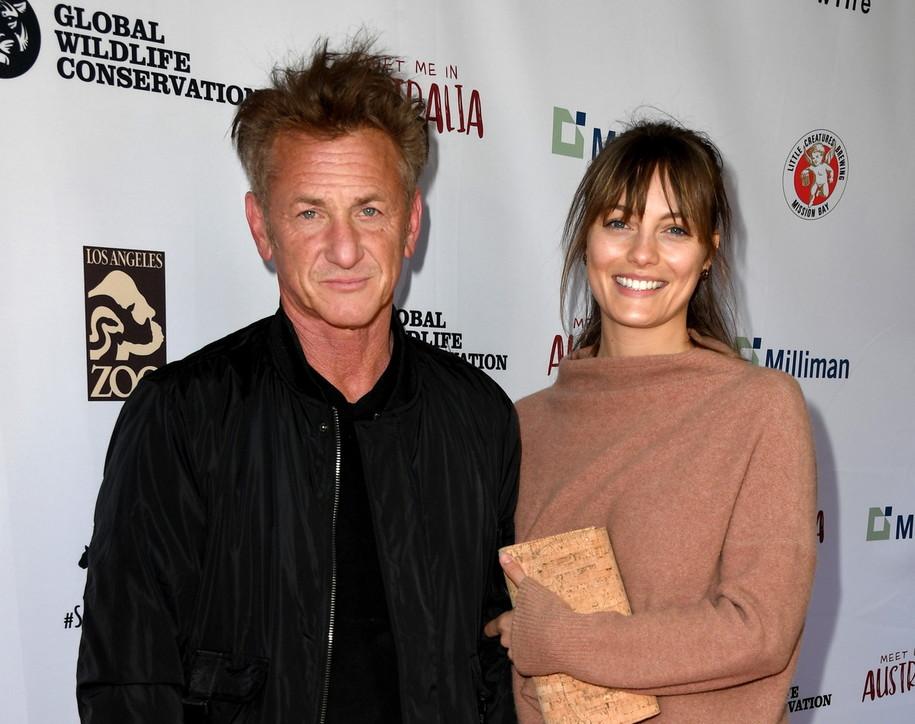 Sean Penn e Leila George sposi