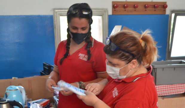 Sesto San Giovanni, le unità di strada della Croce Rossa portano aiuto ai più bisognosi anche in estate