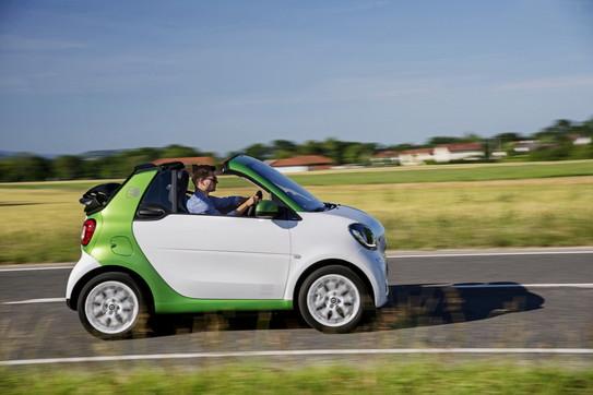 Smart EQ Cabrio Suitegrey