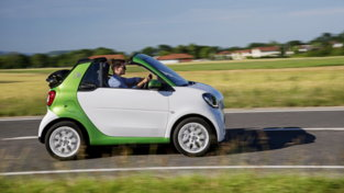 Smart EQ Cabrio Suitegrey